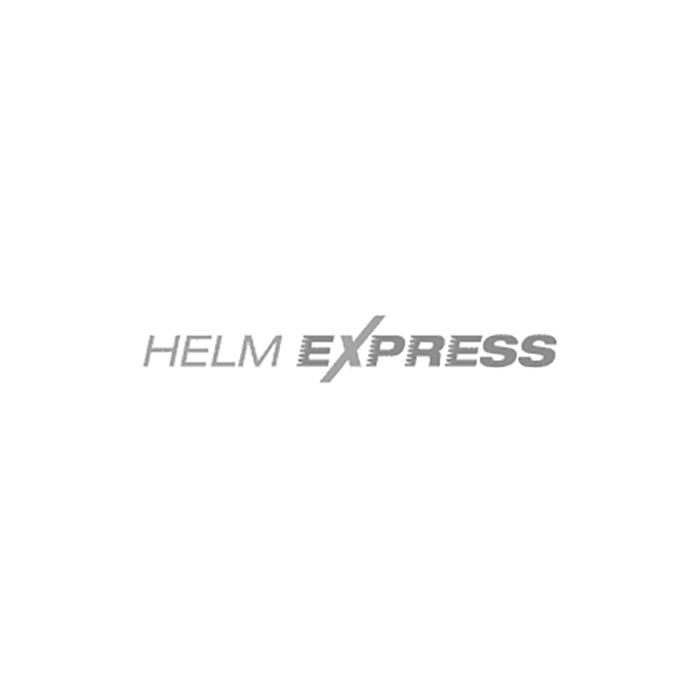 SHOT FURIOUS BRUSH CHROME Helm