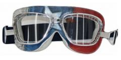 BARUFFALDI SUPERCOMP AMERIKA Brille weiss-blau-rot