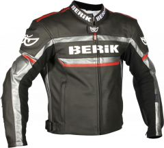 BERIK LJ-9667A-BK LEDERJACKE