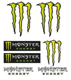 BOOSTER Stickerkit Monster-Rockstar