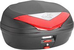 KAPPA K466N Top Case mit rotem Reflektor