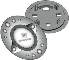 SHARK RSI-SK4-RSF3-RSF2i+Race Push Buttondeckel alu