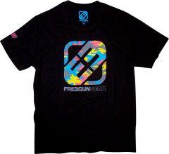 SHOT FREEGUN CAMO-DRUMS T-Shirt