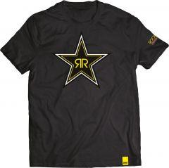 SHOT ROCKSTAR BLACK STAR T-Shirt