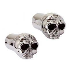 TUNR VENTILKAPPE (Paar) Skull